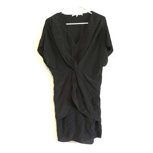 Knotted Silk Dress